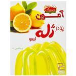پودر ژله لیمو آمون مقدار 100 گرم