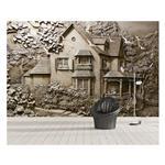 کاغذ دیواری سه بعدی صالسو آرت مدل A- stone village 364