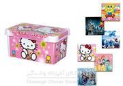 جعبه همه کاره بزرگ چاپدار لیمون دخترانه  کد 44602