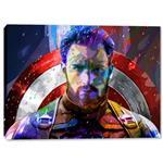 تابلو بوم وی وین آرت طرح Captain America کد 364