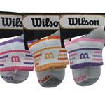 جوراب ورزشی زنانه ویلسون مدل wi34s0n مجموعه 3 عددی
