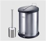 سطل زباله استیل 3لیتر یونیک کد:4360