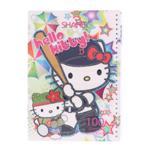 دفتر 100 برگ طلقی طرح Hello Kitty