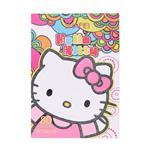 دفتر 80 برگ نقاشی طرح Hello Kitty  و خرس