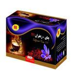 دمنوش چای سیاه و زعفران 111 بسته 20تایی