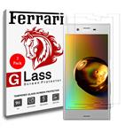Ferrari Ultra Clear Crystal Glass Screen Protector For Sony Xperia Xzs