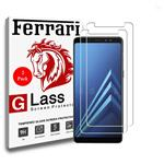 Ferrari Ultra Clear Crystal Glass Screen Protector For Galaxy A8 2018