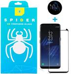Spider 5D Front And Lenz Screen Protector For Samsung galaxy S8