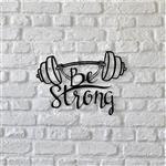 استیکر چوبی آتینو طرح Be Strong