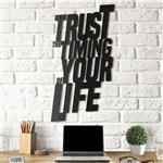 استیکر چوبی آتینو طرح Trust