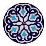 بشقاب سفالی طرح اسلیمی