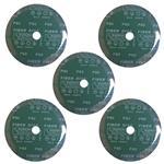 ورق سنباده دیسکی اورینت کرافت مدل P80 قطر 180 میلی متر بسته 5 عددی