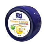 کرم نرم کننده جی مدل vitamin E cream حجم 200 میلی لیتر