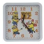ساعت دیواری  کودک وگو بوتیک مدل Minion002