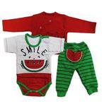 ست لباس نوزاد و کودک یلدا (شب چله ) پسرانه  GOOD mark
