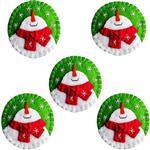 آویز درخت کریسمس Haiaho مدل ورسای مجموعه 5 عددی