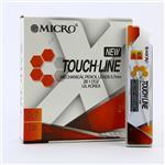 نوک مداد نوکی میکرو مدل TOUCHLINE قطر نوشتاری 0.7 میلی متر بسته 12 عددی