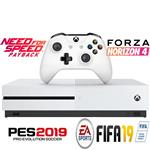 کنسول بازی مایکروسافت مدل Xbox One S ظرفیت 1 ترابایت به همراه 30 عدد بازی