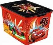 باکس لبه دار بزرگ دیزنی کرور (CURVER) مدل cars