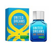 ادو تویلت مردانه 2018 United Dreams One Summer بنتون