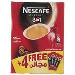 قهوه فوری کافی میکس نسکافه 3 در 1 بسته 4+20 عددی