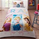 سرویس ملحفه تاچ مدل Princess Dream یک نفره 3 تکه
