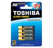 Toshiba Alpha Power Alkaline AAA Battery