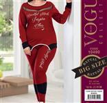 بلوز شلوار زنانه سایز بزرگ ترک -  10490 Vogue