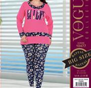 بلوز شلوار زنانه سایز بزرگ ترک -  10477 Vogue
