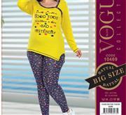 بلوز شلوار زنانه سایز بزرگ ترک -  10469 Vogue