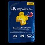 گیفت کارت ۱ ماهه Playstation Plus آمریکا