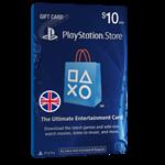 گیفت کارت ۱۰ پوندی Playstation انگلیس