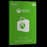 گیفت کارت ۲۰ دلاری XBOX