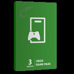 خرید گیفت کارت ۳ ماهه Game Pass XBOX