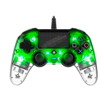 دسته سبز نوری ناکن Nacon Wired Illuminated Green Controller برای PS4