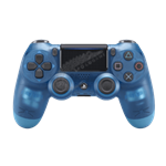دسته کریستال آبی DualShock 4 Blue Crystal Slim Wireless Controller