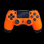 دسته نارنجی DualShock 4 Sunset Orange Slim Wireless Controller