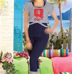 تی شرت شلوارک سه تیکه  10024 VOGUE