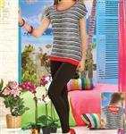 تی شرت  شلوار زنانه ترک -  10192 Vogue