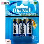 باتری 1.5 وات maxell بسته دو عددی