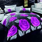 سرویس کاور Best Class طرح Purple Dream lila دونفره 4 تکه