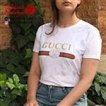 تیشرت سفید زنانه Gucci