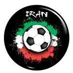 پیکسل  فلوریزا طرح ایران و توپ فوتبال کد 004