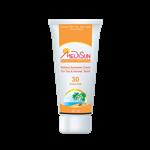کرم ضد آفتاب مدیسان spf 30 مخصوص پوست های خشک و معمولی 50 میلی گرم