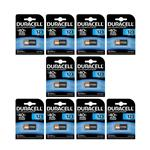 Duracell High Power CR123 Lithium Battery Pack Of 10