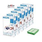 پاکت جاروبرقی فیلیپس6d+1f Vacuum Cleaner