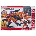 ساختنی هاسبرو مدل Transformer Dinofire Grimlock And Optimus Prime