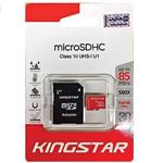 kingsatar UHS-I U1 Class 10 85MBps microSDHC With Adapter - 16GB