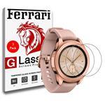 محافظ صفحه نمایش فراری مدل Ultra Clear Crystal مناسب برای ساعت سامسونگ Galaxy Watch 42mm مجموعه دو عددی