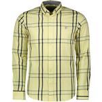 پیراهن مردانه سیاوود مدل SHIRT-SL-32923 C0004 رنگ لیمویی